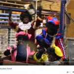 De Zwarte Pieten uit de video van Bebo Parket.