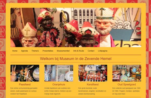 Sinterklaastentoonstelling museum In de Zevende Hemel