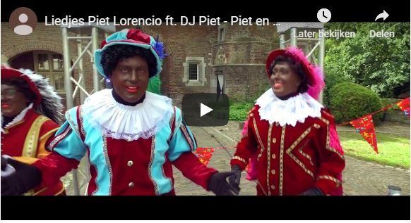 Sinterklaashit van Liedjes Piet Lorencio uitgebracht