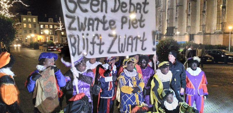 Nieuw PietenProtest in Zwolle bij Provincie Overijssel