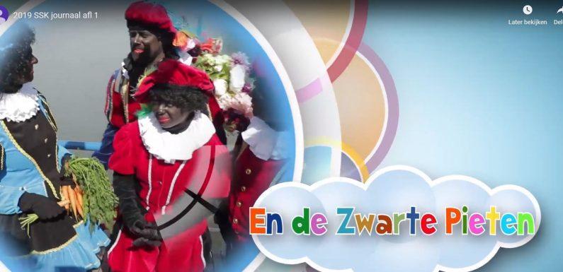 Lokaal Sinterklaasjournaal met Zwarte Piet