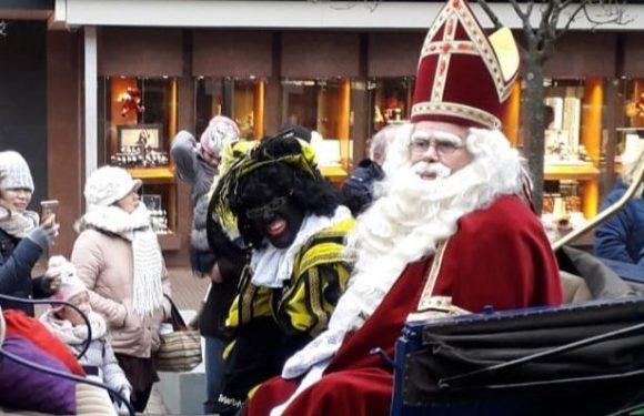 Sinterklaas en Zwarte Piet in het land!