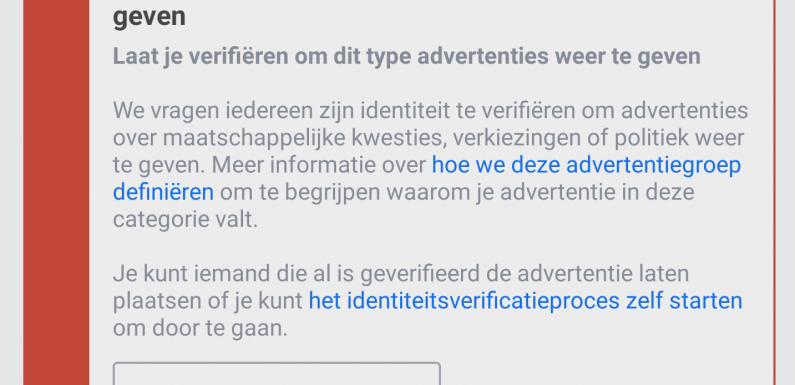 Facebook blokkeert reclames met Zwarte Piet erin
