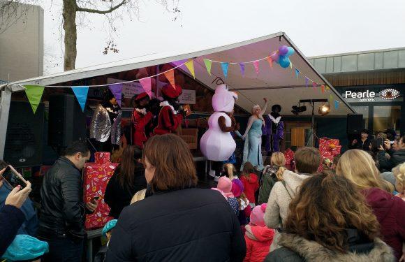 Zwarte Pieten bij Pietenfestival Colmschate