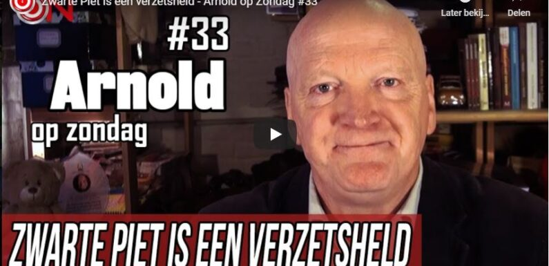 Ongehoord Nederland start met Zwarte Pietenjournaal