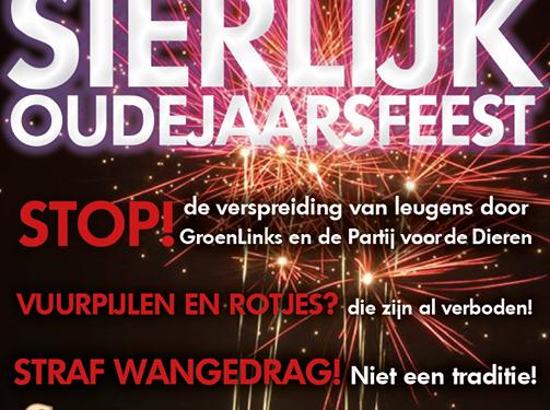 Actie voor behoud vuurwerk met hashtag #LaatOnsVieren